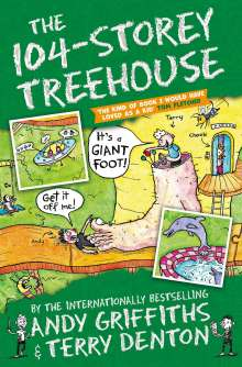 Andy Griffiths: The 104-Storey Treehouse, Buch