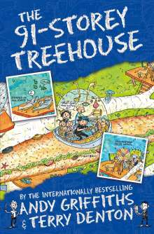 Andy Griffiths: The 91-Storey Treehouse, Buch