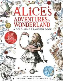 Lewis Carroll: Alice in Wonderland: A Colouring Transfer Book, Buch
