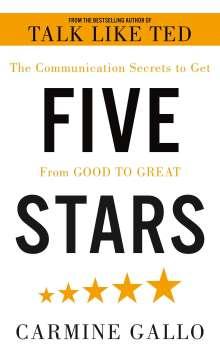 Carmine Gallo: Five Stars, Buch
