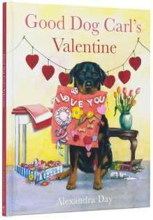 Alexandra Day: Good Dog Carl's Valentine, Buch