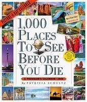 Patricia Schultz: 2020 1,000 Places to See Before You Die Picture-A-Day Calendar, Diverse