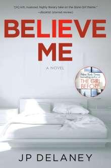 Jp Delaney: Believe Me, Buch