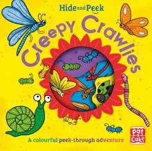 Pat-a-Cake: Hide and Peek: Creepy Crawlies, Buch