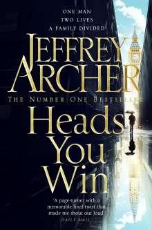 Jeffrey Archer: Heads You Win, Buch
