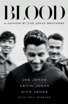 Joe Jonas: Blood, Buch