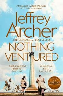Jeffrey Archer: Nothing Ventured, Buch