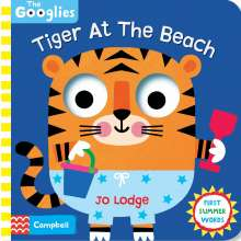 Campbell Books: Tiger At The Beach, Buch