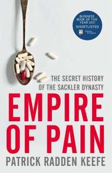 Patrick Radden Keefe: Empire of Pain, Buch