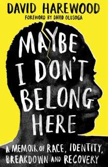 David Harewood: Maybe I Don't Belong Here, Buch