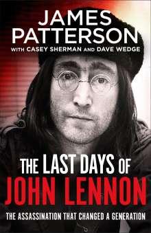 James Patterson: The Last Days of John Lennon, Buch
