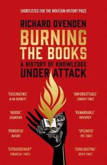Richard Ovenden: Burning the Books, Buch