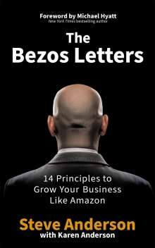 Steve Anderson: The Bezos Letters, Buch
