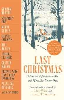Greg Wise: Last Christmas, Buch