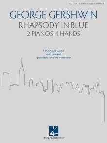 George & Ira Gershwin: George Gershwin's Rhapsody in Blue - Arranged for 2 Pianos, 4 Hands: For 2 Pianos, 4 Hands, Noten