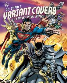 Daniel Wallace: DC Comics Variant Covers, Buch