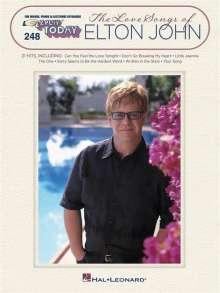 Elton John: The Love Songs of Elton John, Noten
