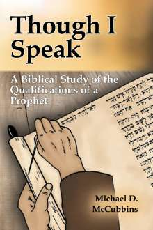 Michael D. McCubbins: Though I Speak, Buch