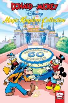 Carl Barks: Donald And Mickey The Magic Kingdom Collection, Buch
