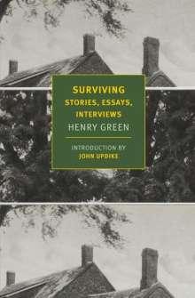 Henry Green: Surviving: Stories, Essays, Interviews, Buch