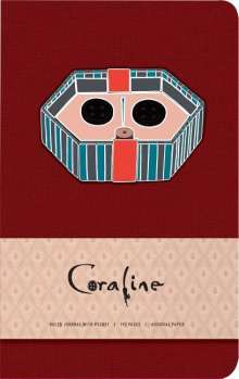Insight Editions: Coraline Hardcover Ruled Pocket Journal, Buch