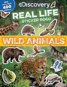 Courtney Acampora: Discovery Real Life Sticker Book: Wild Animals, Buch