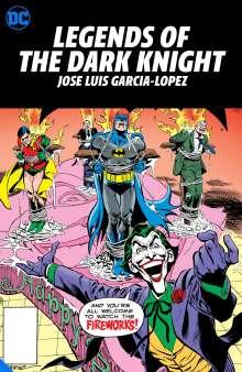 Various: Legends of the Dark Knight: Jose Luis Garcia-Lopez, Buch