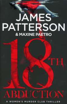 James Patterson: 18th Abduction, Buch