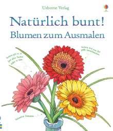 Susan Meredith: Natürlich bunt! Blumen zum Ausmalen, Buch