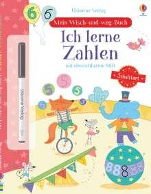 Hannah Watson: Mein Wisch-und-weg-Buch Schulstart: Ich lerne Zahlen, Buch