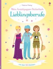 Emily Bone: Mein Anziehpuppen-Stickerbuch: Lieblingsberufe, Buch