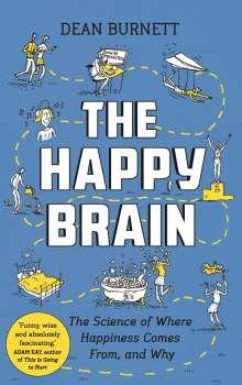 Dean Burnett: The Happy Brain, Buch