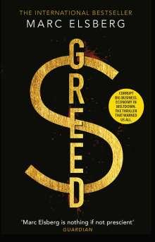 Marc Elsberg: Greed, Buch