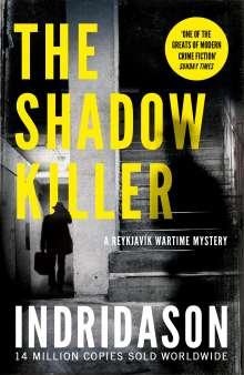Arnaldur Indridason: The Shadow Killer, Buch