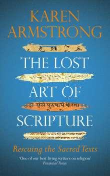 Karen Armstrong: The Lost Art of Scripture, Buch