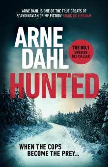 Arne Dahl: Hunted, Buch
