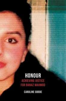 Caroline Goode: Honour, Buch