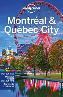 Planet Lonely: Montreal & Quebec City, Buch