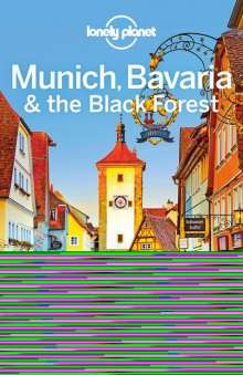 Planet Lonely: Munich, Bavaria & the Black Forest, Buch