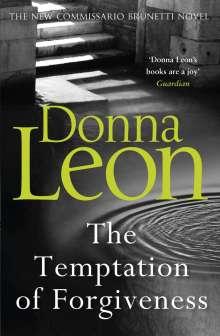 Donna Leon: The Temptation of Forgiveness, Buch