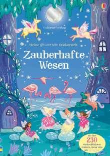 Fiona Patchett: Meine glitzernde Stickerwelt: Zauberhafte Wesen, Buch