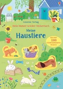Hannah Watson: Mein Immer-wieder-Stickerbuch: Meine Haustiere, Buch
