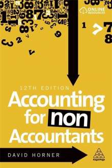 David Horner: Accounting for Non-Accountants, Buch