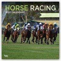 Horse Racing - Pferderennen 2020 - 18-Monatskalender, Diverse