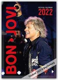 Bon Jovi 2022 - A3 Format Posterkalender, Kalender