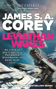 James S. A. Corey: The Expanse 01. Leviathan Wakes, Buch