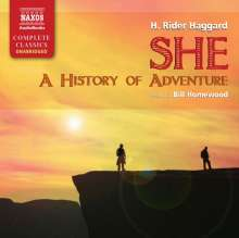 She: A History of Adventure, 11 CDs
