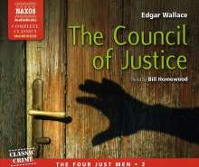 Edgar Wallace: The Council of Justice, Volume 2: The Four Just Men, CD