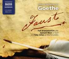 Johann W. von Goethe: Faust, 4 CDs