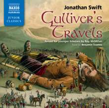 Jonathan Swift: Gulliver's Travels, 2 Audio-CDs, 2 CDs